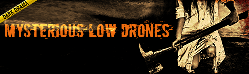 Mysterious Low Drones Dark Drama music from ALIBI Production Music Library for film, tv, crime shows, news, documentaries, podcasts, youtube, video games