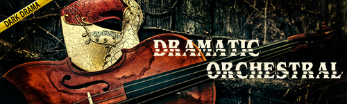 Dramatic Orchestral Dark Drama collection from ALIBI Production Music Library catalog