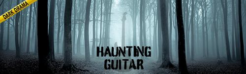 Haunting Guitar Crime Drama from ALIBI stock music for news, documentaries, crime shows, youtube, podcasts, video games, twitch