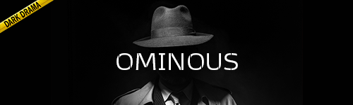Ominous Dark Drama music collection from ALIBI for film, tv, news, documentaries, crime shows, podcasts, youtube, video games, twitch