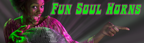 Fun Soul Horns for Promos and Ads only from ALIBI Production Music Library