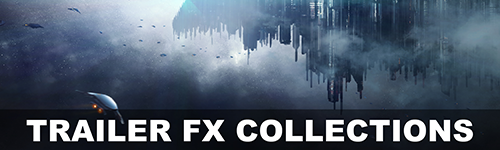 Alibi Production Music Library Trailer FX Collections for licensing for film, television, youtube, podcasts, video games, and all media
