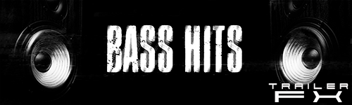 Alibi Production Music Library Bass Hits Trailer FX