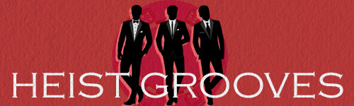 Heist Grooves music for licensing playlist