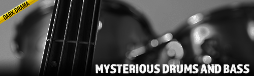 Mysterious Drums and Bass Dark Drama collection from ALIBI. Production Stock Music for film, television, news, documentary, tv, crime shows, podcasts, youtube, twitch, video games