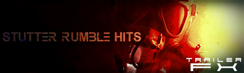 Alibi Production Music Library Stutter Rumble Hits Trailer FX