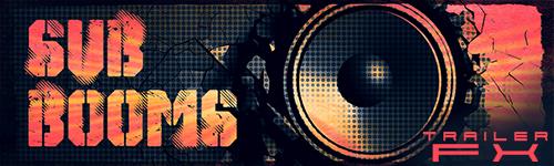 Alibi Production Music Library Sub Booms Trailer FX