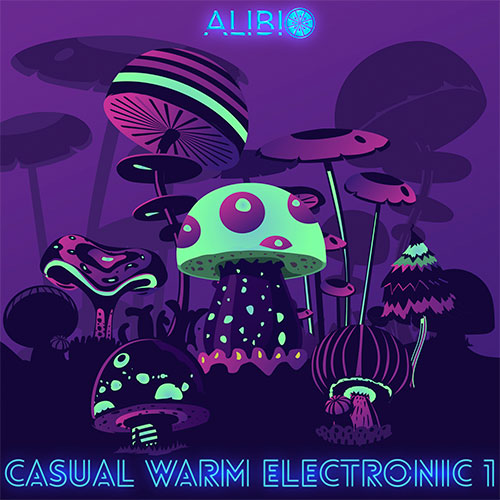 ALIBI's ALIBI Orange Catalog presents licensable Casual Warm Electronic music for video game developers development